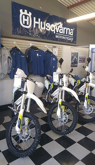 Husqvarna Showroom