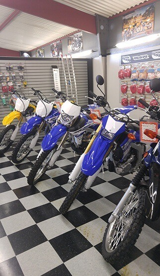 Dirtbike Showroom
